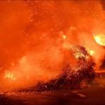 пожар и ветер