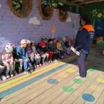 Урок пожарной безопасности в Медведевском детском саду