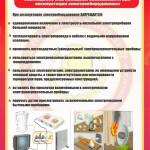 12. 10 Соблюдение мер пожарной безопасности при эксплуатации электрического оборудования